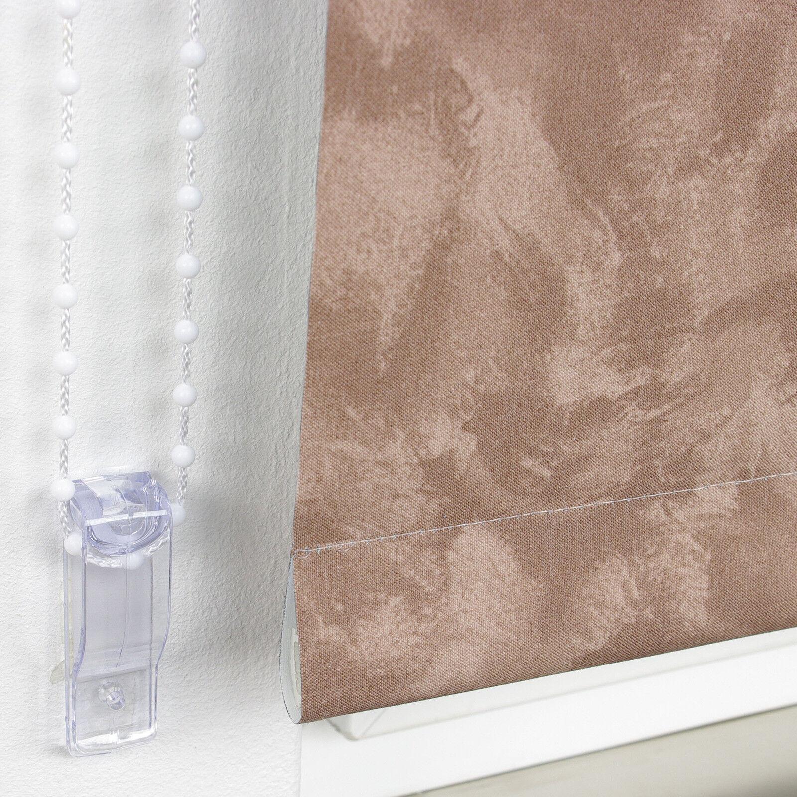 Verdunkelungsrollo Kettenzugrollo Seitenzug Fenster Rollo Rollo Rollo Braun Mocca 60-200 cm   Qualifizierte Herstellung  1c47ae
