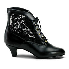 victorian style lace up ankle boots