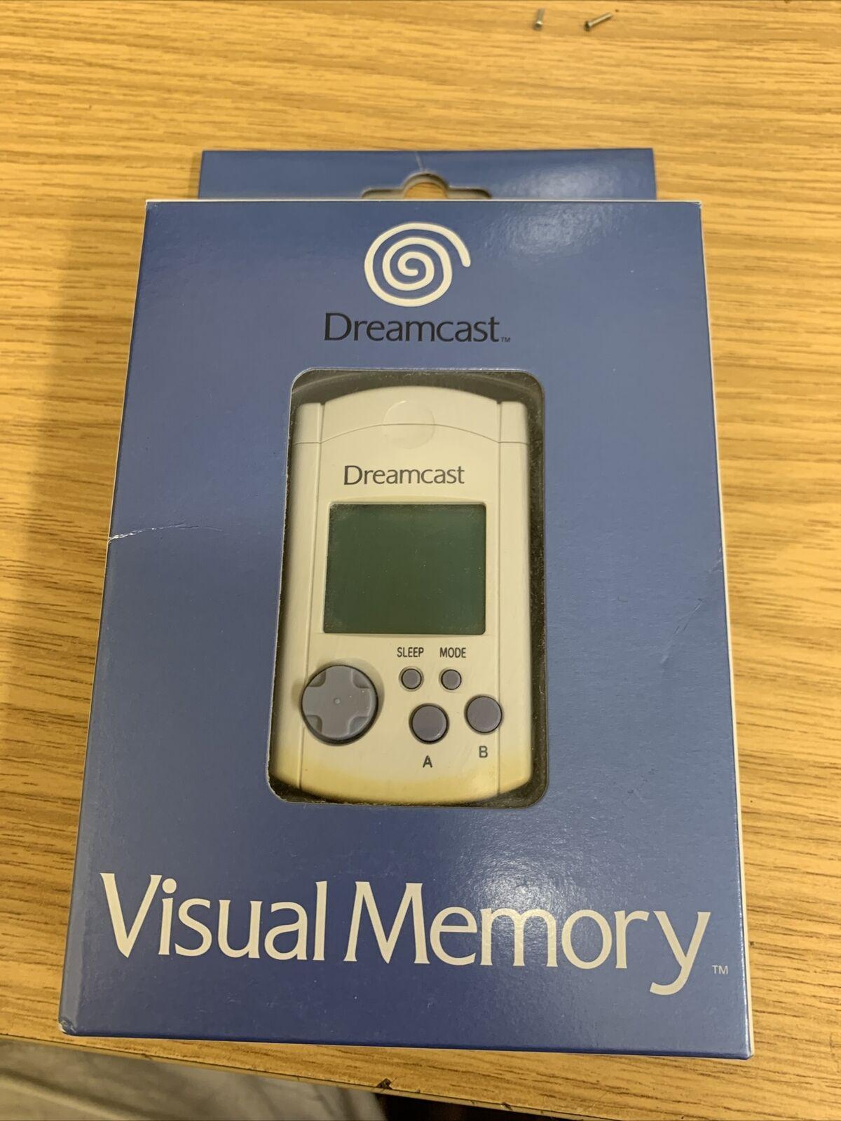 Dreamcast - Visual Memory Unit - boxed