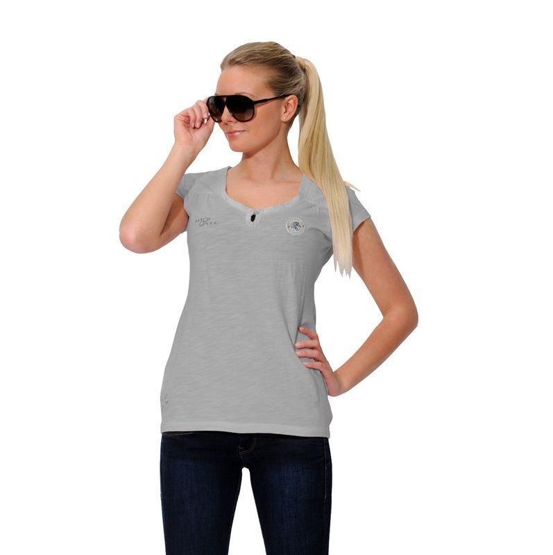 Kaya Shirt Spooks  Shirt T-shirt silver grey pailetten  factory outlet online discount sale