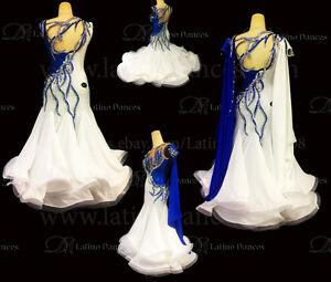 Ballroom-Standard-Waltz-Dance-Dress-With-High-Quality-Rhinestone-ST250