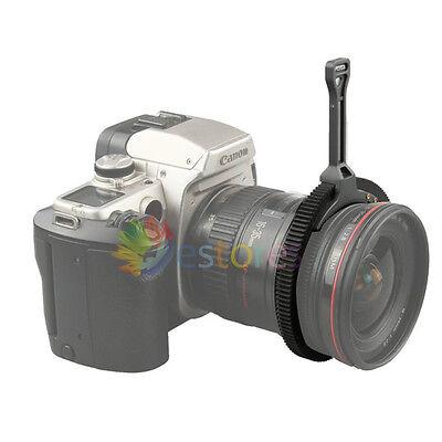 FOTGA DSLR Zoom Follow Focus Handle Lever &Gear Belt Ring for 46-110mm LENS DSLR