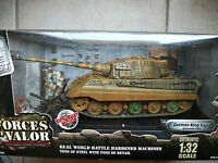 Forces Of Valor Fov King Tiger Normandy 1944 Tank Enthusiast Edition Metal 1:32
