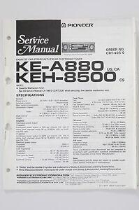 Pioneer ke a880 keh 8500 original service manualguide wiring image is loading pioneer ke a880 keh 8500 original service manual cheapraybanclubmaster Image collections