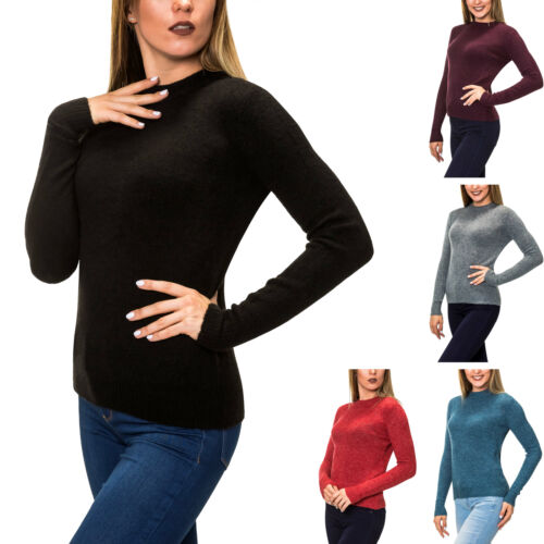 Pieces Damen Wollpullover Strickpullover Damenpullover Wolle Strick Pulli SALE /%