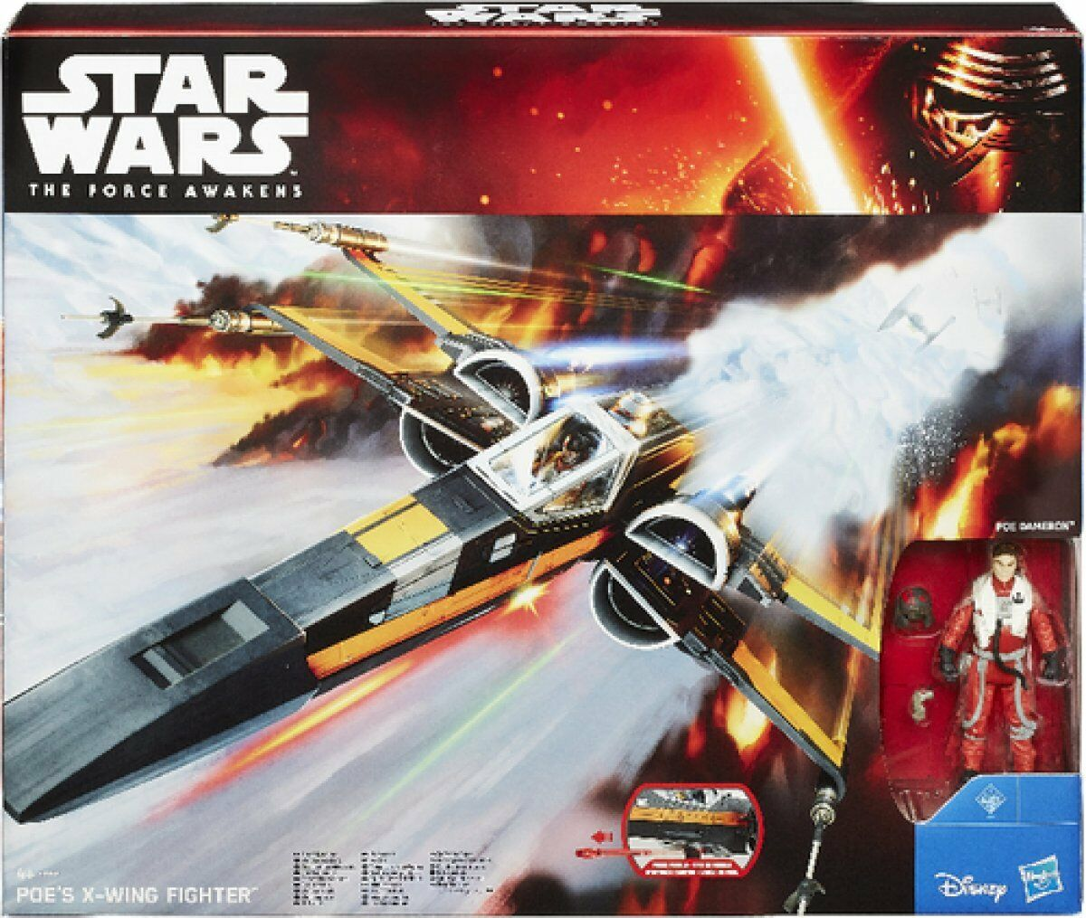 Hasbro Star Wars Episode 7/B3953 / Film Class III Veicolo