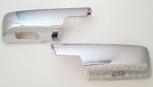 FOR CHEVY SILVERADO GMC SIERRA 2500 3500 HEAVY DUTY CHROME SIDE MIRROR COVERS 99