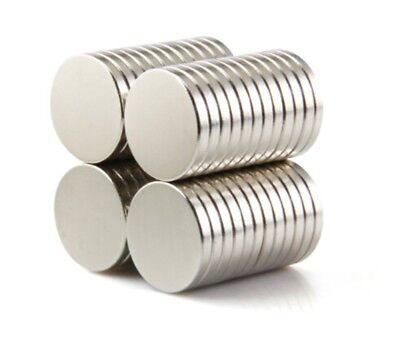 Neodym Magnete 8 x 3 mm Supermagnete hohe Haftkraft Scheibenmagnet N35 50 Stück