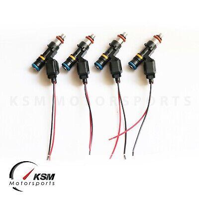 4 x 550cc fuel injectors 02-11 Honda Acura K20A K24A 06-09 S2000 Turbo High OHMS