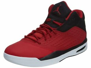 new products d9058 b9a87 Image is loading Jordan-New-School-768901-601-Red-black-white