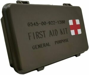 Elite First Aid (STOCKED) General Purpose Military Issue Case Waterproof Aid Kit