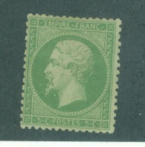 FRANCE-23-ISSUED-1862-VERY-NICE-CONDITION-MINT-HINGED