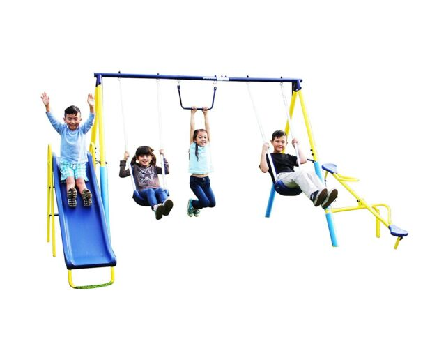 Eastern Jungle Gym Classic A Frame Swing Set Hardware Kit 1