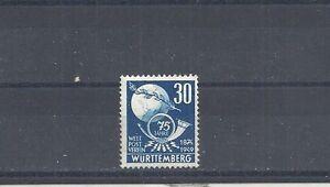 Franzoesiche-Zone-Wuerttemberg-1949-Michelnr-52-postfrisch-Michelwert-6-50