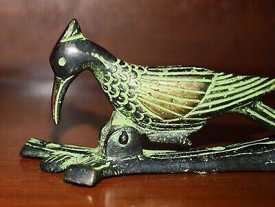 Brass Metal Bird Collection Doorbell Pileated Woodpecker Figure Door Knocker UR4