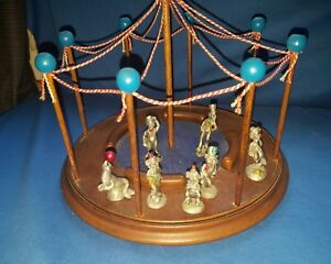 Details about Vintage 1982 The Hudson Circus Set Arena Plus 7 Pewter  Figurines