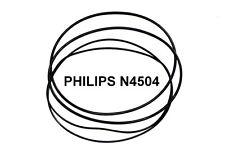 SET CINGHIE PHILIPS N4504 N 4504 REGISTRATORE A BOBINE BOBINA NUOVE FRESCHE!!!