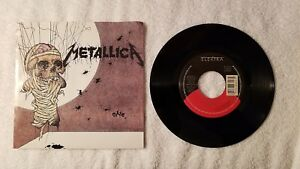 METALLICA-One-The-Prince-Rare-B-Side-PROMO-7-034-Vinyl-Single-45-PICTURE-SLEEVE