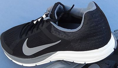 watch cc7de a4635 NIKE MENS ZOOM AIR STRUCTURE 17 SIZE 7 615587-010 BLACK SILVER GRAY | eBay
