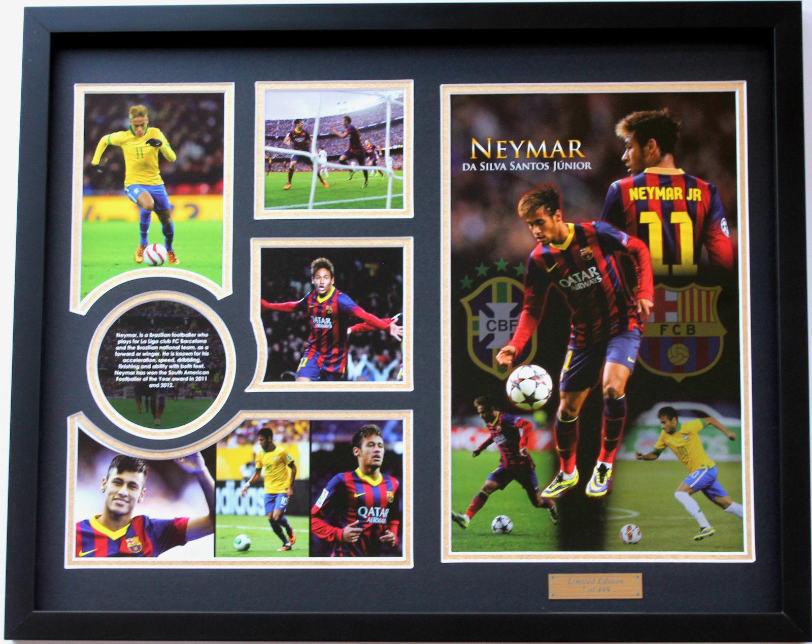 Nuevo Neymar Fc Barcelona Edición Limitada Memorabilia