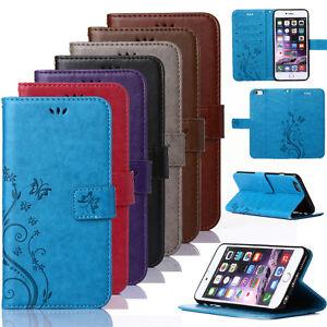 Housse-Etui-Flip-Coque-Portefeuille-Simili-Cuir-Pour-Samsung-Galaxy-amp-Apple-iPhone