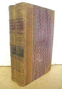 The-Regency-of-Anne-of-Austria-by-Martha-Walker-Freer-1866-Two-Volumes-Leather
