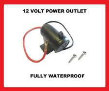 12 VOLT WATERPROOF Cigarette Lighter POWER Socket car van motorcycle bike 12v