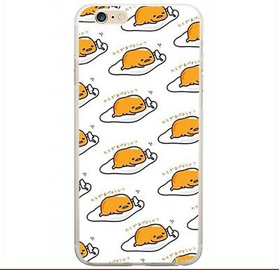 Gudetama lots lying egg Silicon phone case holder for Iphone 5s /5c/6/4s CP90