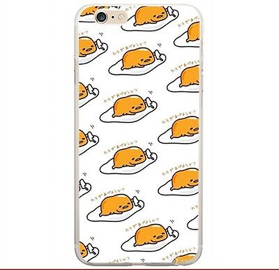 Gudetama lots lying egg Silicon phone case for Iphone 5s /5c/6/4s  KS18 SWEET