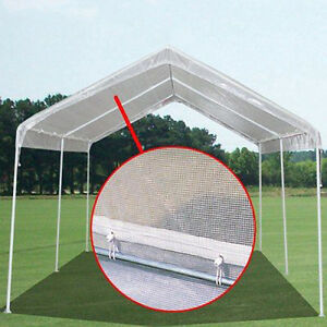 Image is loading 14-X-20-Heavy-Duty-14mil-Clear-Valance- : canopy tarp replacement - memphite.com