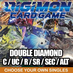 Double Diamond - Digimon Card Game 2021 (BT06) Singles (ENGLISH TCG)