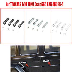 4-PCS-Aluminum-alloy-Auto-Tuergriff-Fuer-TRAXXAS-1-10-TRX-6-Benz-G63-6X6-88096-4