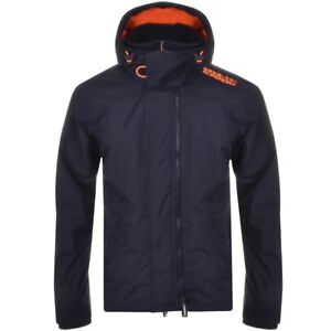 Pop m50009zpf6 Navy Arctic Orange Windcheater Zip Hood Superdry 8FqwOSZF