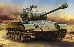 Tamiya-1-48-US-Army-M26-PERSHING-Medium-Tank-Model-Kit-32537