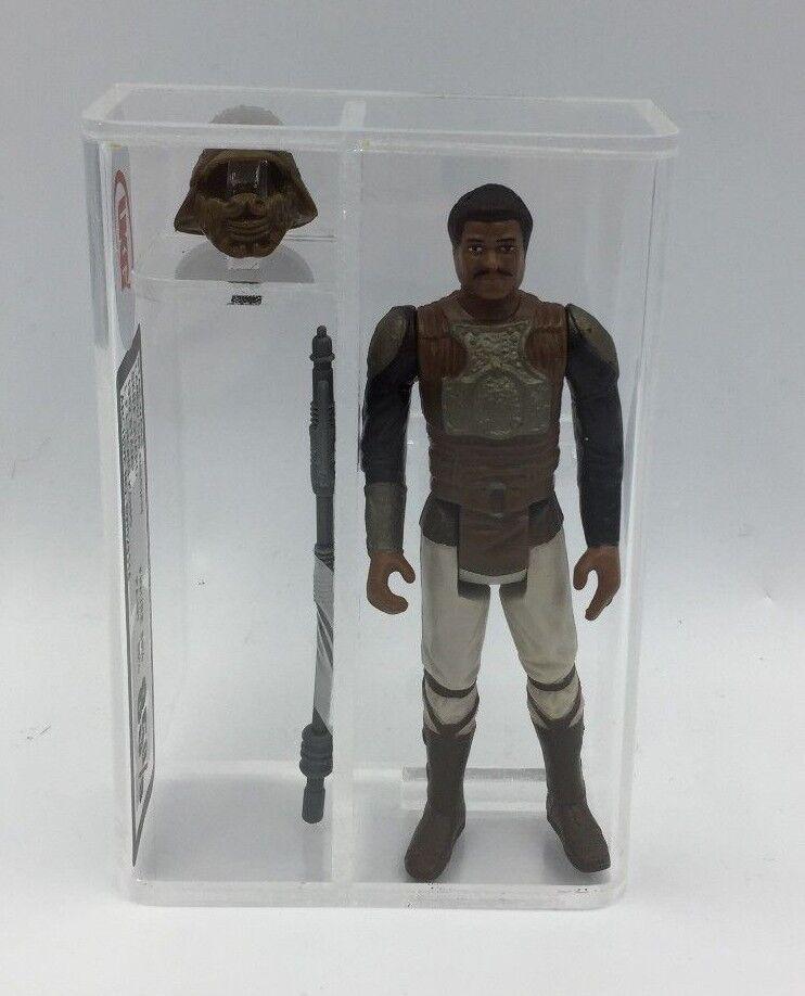 Retro Estrella Wars Lando Calrissian Skiff Guard () noG AFA 85% graduales 1982 HK