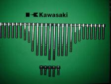 Kawasaki Z500 Z550 GPz550 Engine SS Stainless Allen Screw Kit *UK FREEPOST* New