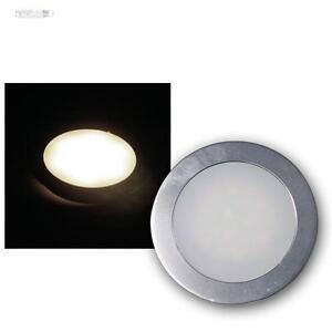 SLIM-LED-boden-einbau-leuchte-Blanco-Calido-Aluminio-mate-12v-0-5w-IP67