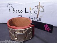 2b Bebe B Turn Lock Buckle Cuff Women's Bracelet