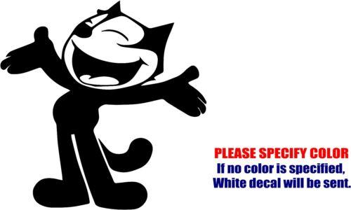 "Felix the Cat Cartoon #02 Car Truck Bumper Window FUN 6/"" Vinyl Decal Sticker"