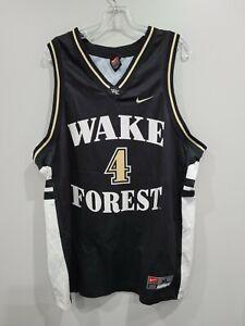 Rare-VTG-90s-Nike-NCAA-Wake-Forest-Demon-Deacons-4-Basketball-Jersey-Mens-XL