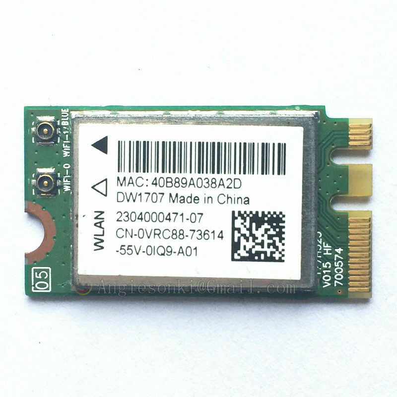 Lot of 5 Dell Inspiron 24 Laptop WIFI Card P//N 0VRC88 VRC88
