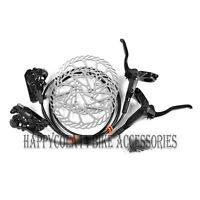 Sale Bicycle Bike Hydraulic Front / Rear Disc Brake 160mm Rotor Oil Brake Black