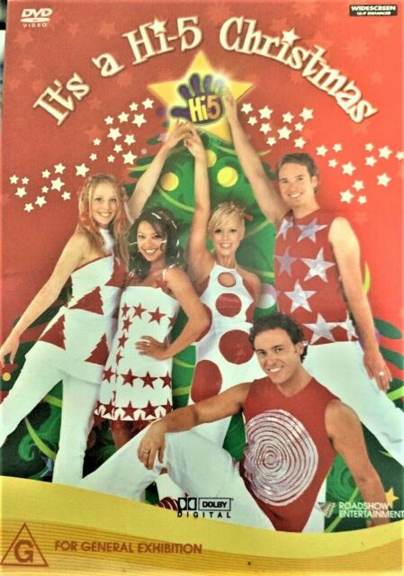 Hi-5 It's A HI-5 CHRISTMAS DVD MUSIC SONGS SANTA CLAUSE IS COMING SLEIGH RIDE R4
