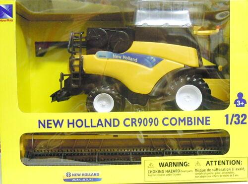 NEU, NewRay Plastik 1//32 Mähdrescher New Holland CR9090 Combine