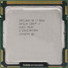 INTEL Core i7 Quad Core CPU i7-860S 2.53GHZ/8MB LGA1156 SLBLG Processor