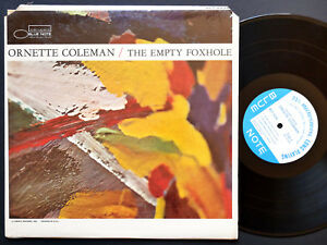ORNETTE-COLEMAN-The-Empty-Foxhole-LP-BLUE-NOTE-4246-NY-MONO-Charles-Haden-CLEAN
