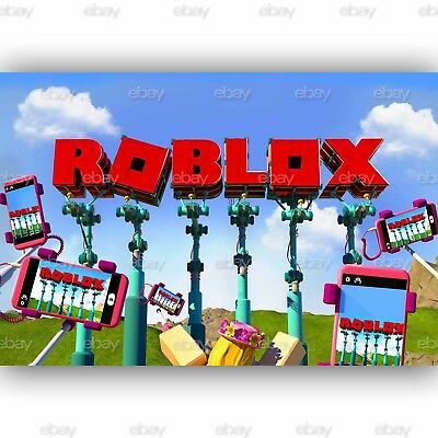 New Diving Roblox Custom Silk Poster Wall Decor