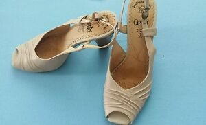 Tolle-Caprice-Pumps-Sommer-Schuhe-Gr-40-5-7-sand
