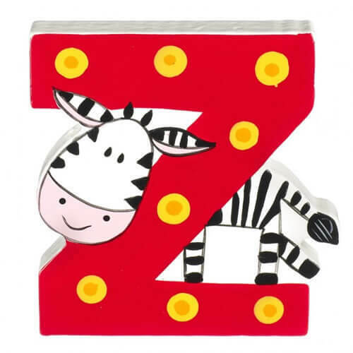 lettre Z pour Zebra Orange Tree Toys