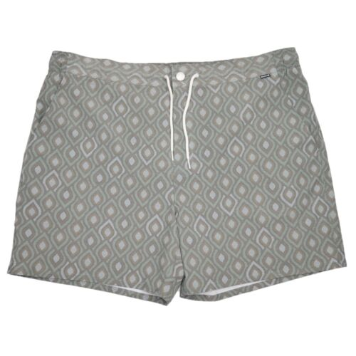 Hurley Modern Fit Stretch Natural Spotty Board Shorts Surf Swim Mens Size 40 NWT